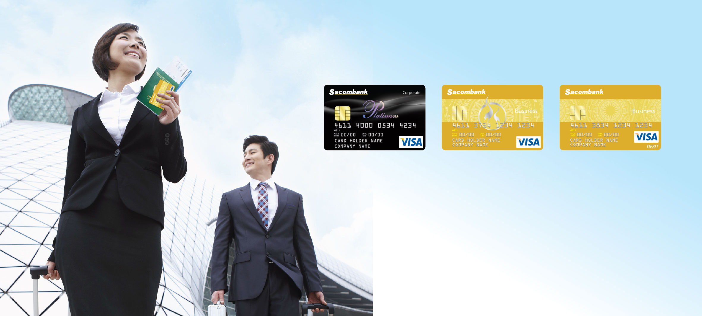 Mở tài khoản doanh nghiệp tại ngân hàng tại Sacombank