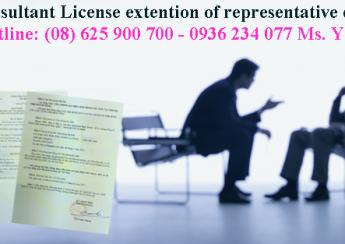 Tư vấn gia hạn giấy phép văn phòng đại diện