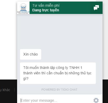 Tư vấn trực tuyến tại nguyenanluat.vn