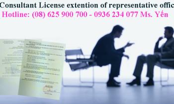 Thủ tục gia hạn giấy phép thành lập văn phòng đại diện thương nhân nước ngoài