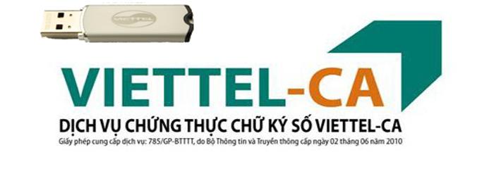 Chữ ký số Viettel-ca 1