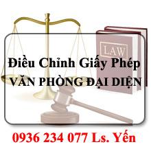 Dịch vụ tư vấn thủ tục thay đổi, điều chỉnh giấy phép văn phòng đại diện thương nhân nước ngoài